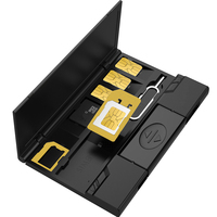 Высококачественный атмосферный держатель sim-карты кардридер и другие аксессуары набор инструментов коробка для хранения