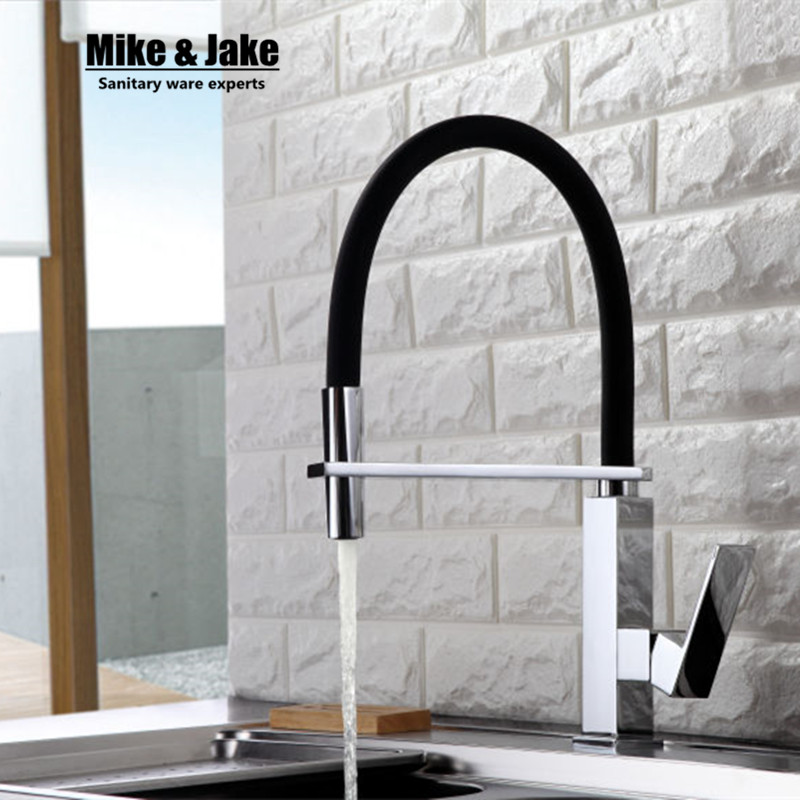 New Black kitchen Faucet pull down kitchen mixer sink faucet pull out taps for sink taps hot and cold kitchen faucets MJLT918