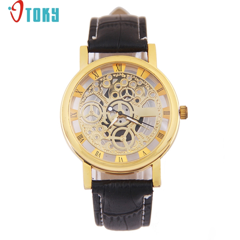 Excellent Quality OTOKY New Luxury Watches Men Multifunction Business Rome Digital Quartz Man Wristwatch Relogio Masculino