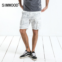 SIMWOOD 2018 Summer New Cargo Shorts Men Slim Fit Camouflage Pockets Casual Shorts High Quality Brand