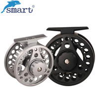Smart 75mm 85mm Fly Fishing Reel 2 1 Ball Bearing Aluminum Alloy Left Right Hand Carretilha