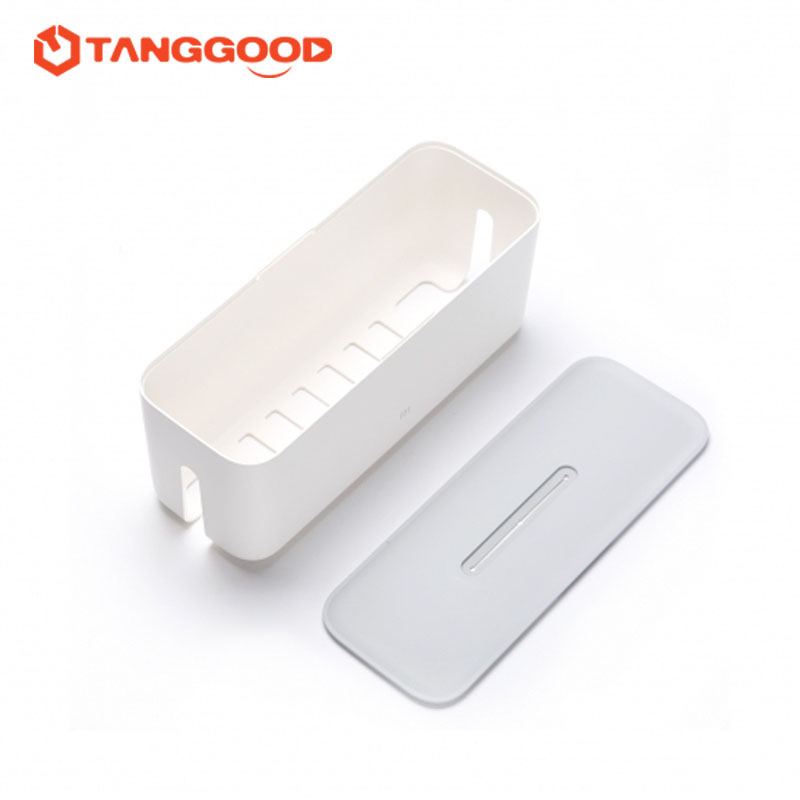 Xiaomi Smart Power Strip Socket Plug Storage Box Dust Proof Isulation  Perfect Match Cordless Organize Box Container 3 USB Port
