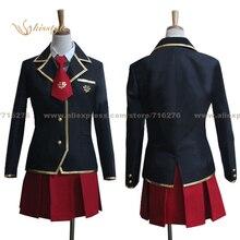 Kisstyle Fashion Baka and Test Mizuki Himeji Fumizuki Academy School Girl Uniform Cosplay Clothing Cos Costume