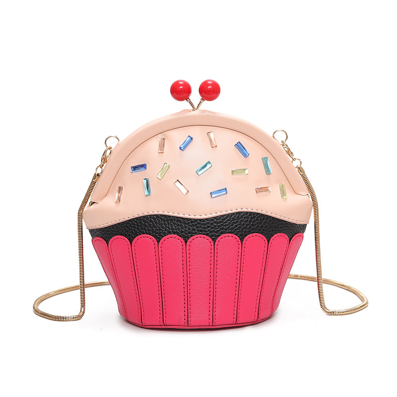Cupcake Tas Es Krim Desain Modis Tas Kurir Wanita Rantai Bahu Tas Lolita  Lucu Selempang Tas Perempuan Musim Panas Bao bao di Crossbody Tas dari  Bagasi   Tas ... d3fc26fa42