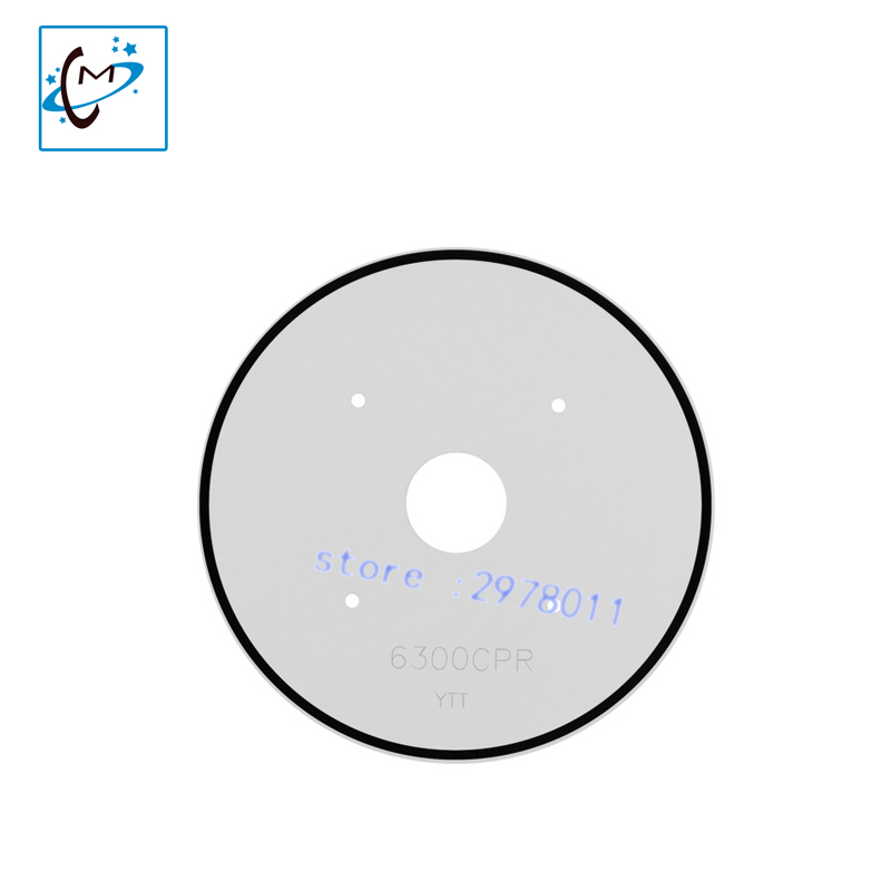 все цены на  Top quality !!! Inkjet printer spare parts Mutoh encoder disc sensor Valuejet VJ1604 1618 media sensor plate 6300CPR for sale  онлайн