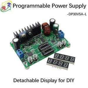 Image 3 - RD DP30V5A L sabit gerilim akım adım aşağı programlanabilir güç kaynağı modülü buck gerilim dönüştürücü regülatörü LED ekran