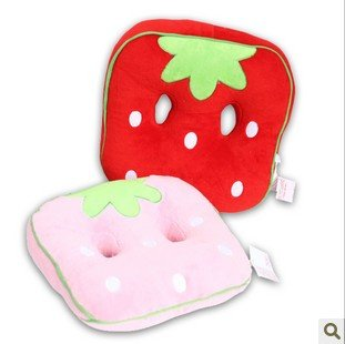 Wholesale Home Hecoration Gift Plush Toy Strawberry Chair Pad Cushion Car Seat Cushion Pillow 36*36*8cm 2PCS/Lot FREE SHIPPING-in Cushion from Home u0026 Garden ...  sc 1 st  AliExpress.com & Wholesale Home Hecoration Gift Plush Toy Strawberry Chair Pad ...