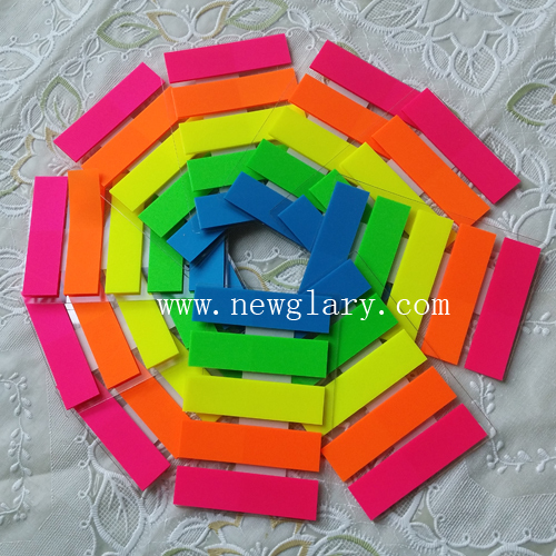 (5-10pcs) 5 barvnih simpatičnih 100 strani plastična nalepka Post It Bookmark Point It Marker Memo Flags Lepljive opombe