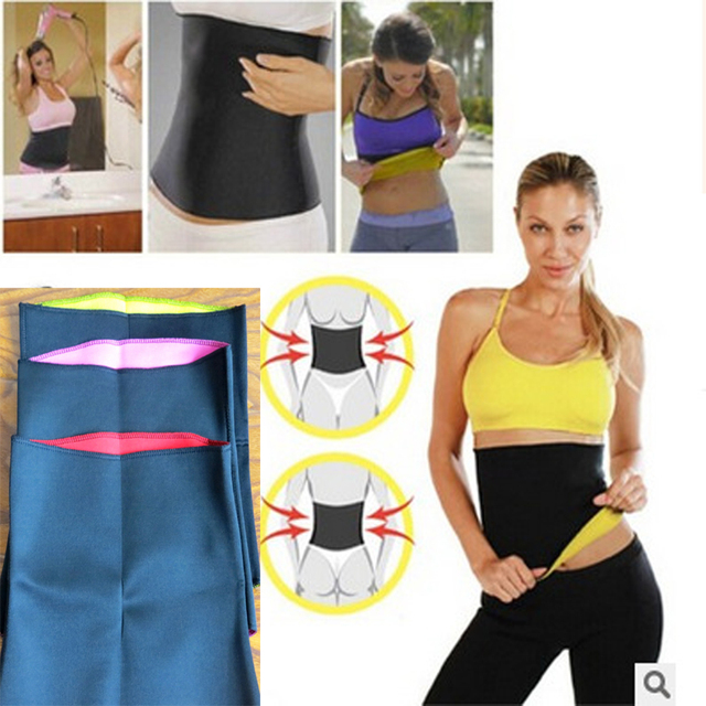 Adult Shaper braceHot Waist Band Gym Fitness Sports Exercise Waist Support Pressure Protector Body Building Belt Slim Item Sweat
