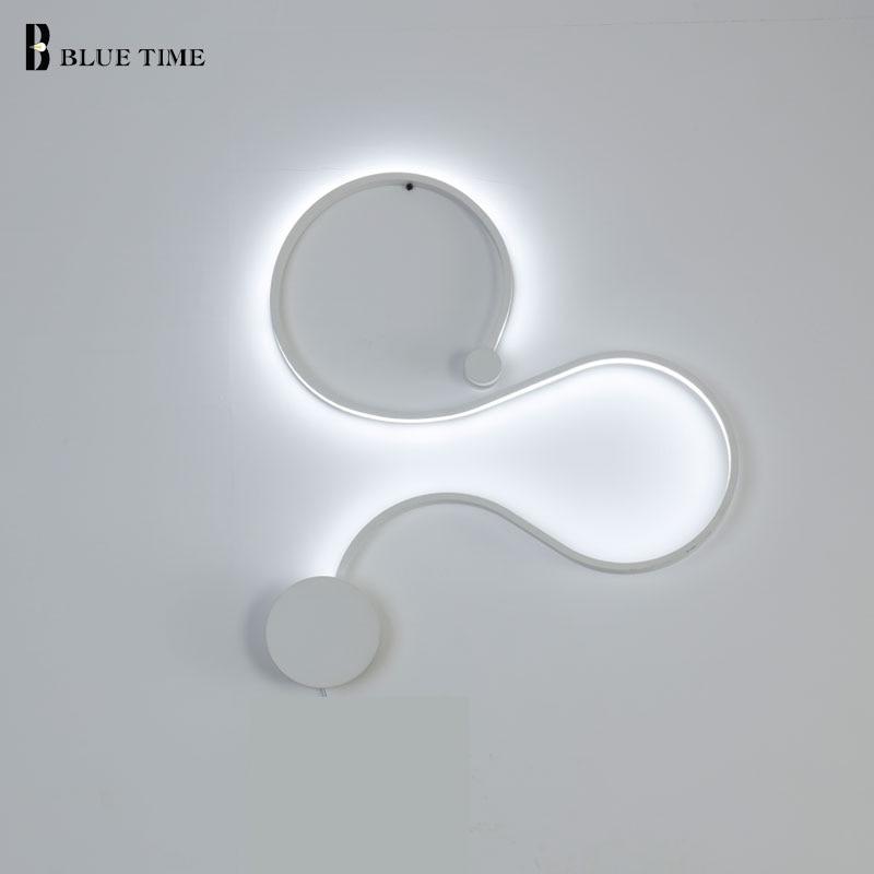 Yaşayış otağı üçün müasir LED divar - Daxili işıqlandırma - Fotoqrafiya 5