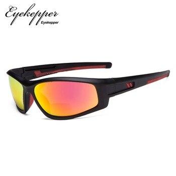 74b87d5181 S045-Bifocal Eyekepper gafas de sol Bifocal TR90 para deportes al aire  libre sol los lectores