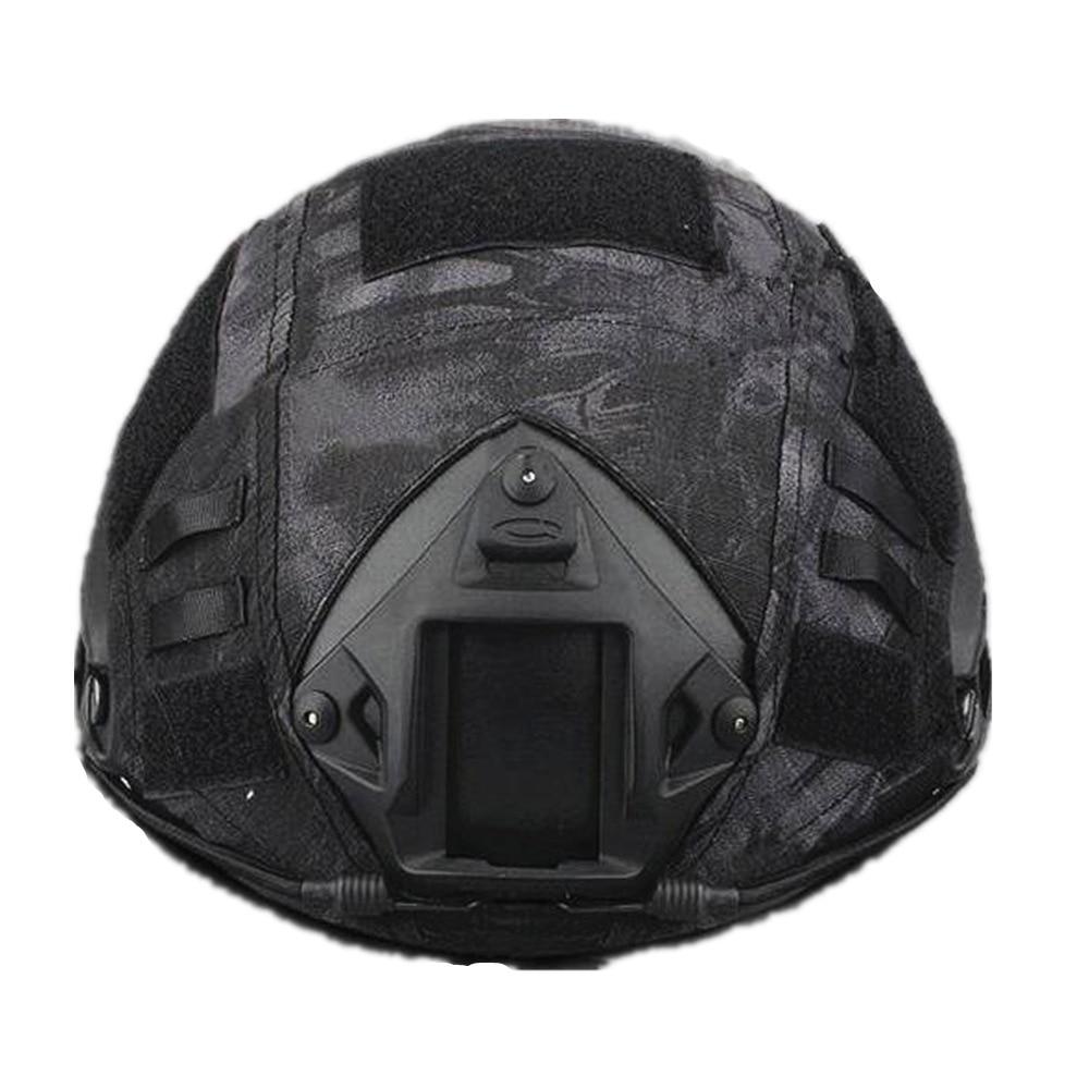 Emers шлем крышка шлем ткань Пейнтбол Wargame Airsoft тактический Военная Униформа шлем Крышка для быстрого Шлем Крышка 6 видов цветов выбор