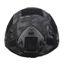 Emers Wargame Airsoft Paintball Tático Militar capacete capa capacete pano Capa Capacete Para Capacete Rápido capa 6 cores escolha