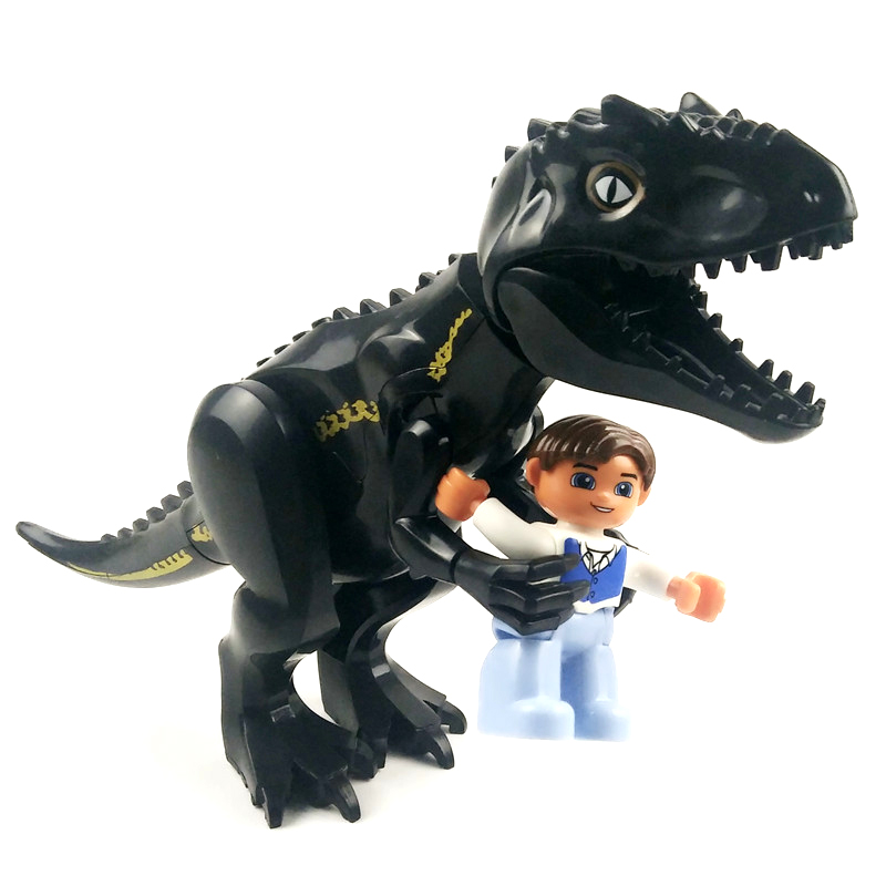 Jurassic Dinosaur world Figures Tyrannosaurs Rex Building Blocks Compatible With LegoINGS Dinosaur Toys For Children BKX92 in Blocks from Toys Hobbies