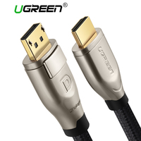 Ugreen Displayport To HDMI Cable DP To HDMI 2 0 Adapter Converter 4K 60Hz Video Audio