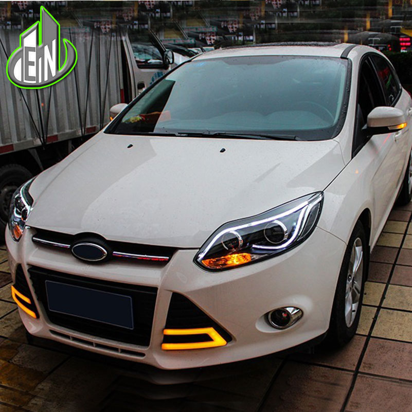 Car Styling LED For Ford Focus Headlights 2012 2014 TLZ
