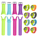 1Pc Soft Rubber Replacement Watch Band Strap For SUUNTO Ambit 3 PEAK/Ambit 2/Ambit Replacement watchband1 8 colors