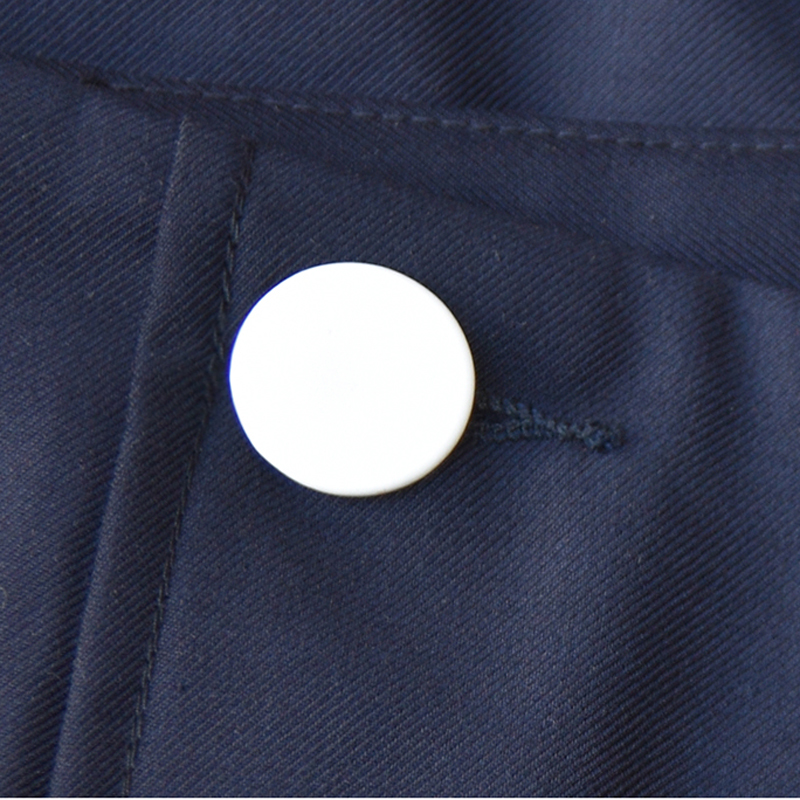 Botones Sólido Color Casual Anchos Loose Largas Calidad Pantalones Calle Superior Mujeres RO8Z77