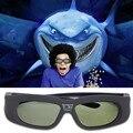Активных Затвора 3D Очки Универсальный Аккумуляторная ИК Bluetooth 3D Очки Для Sony Panasonic Sharp Toshiba Samsung Проектор ТВ