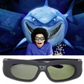 Active Shutter 3D Glasses Universal Rechargeable IR Bluetooth 3D Glasses For Sony Panasonic Sharp Toshiba Samsung Projector TV