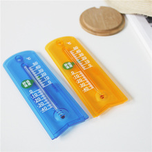 Wholesale 164mm*55mm 2colors Lovely Standing Thermometer Outdoor Indoor Temperature Instruments For Decor Study Living Bed Room
