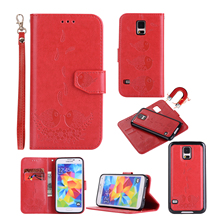 Case for Samsung Galaxy S5 SV S 5 Neo G903F G900F G900FD G900H SM-G900FD SM-G900F SM-G900H SM-G903F 2 in 1 Phone Leather Cover