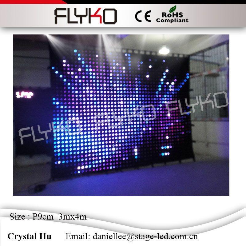 LED video curtain38