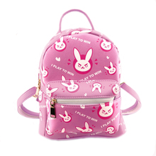 E-Mell Lovelive DVA Totoro cat backyard Natsume's Book Miku Smile face Ram Lem poket Pika pu bag Backpack худи print bar smile totoro
