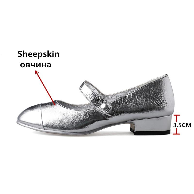 FEDONAS Neue Mode Pumps Mary Jane Silber Weiß Party Hochzeit Schuhe Frau Dicken Absätzen Frühling Sommer Neue Schuhe Weibliche Pumpen-in Damenpumps aus Schuhe bei  Gruppe 3