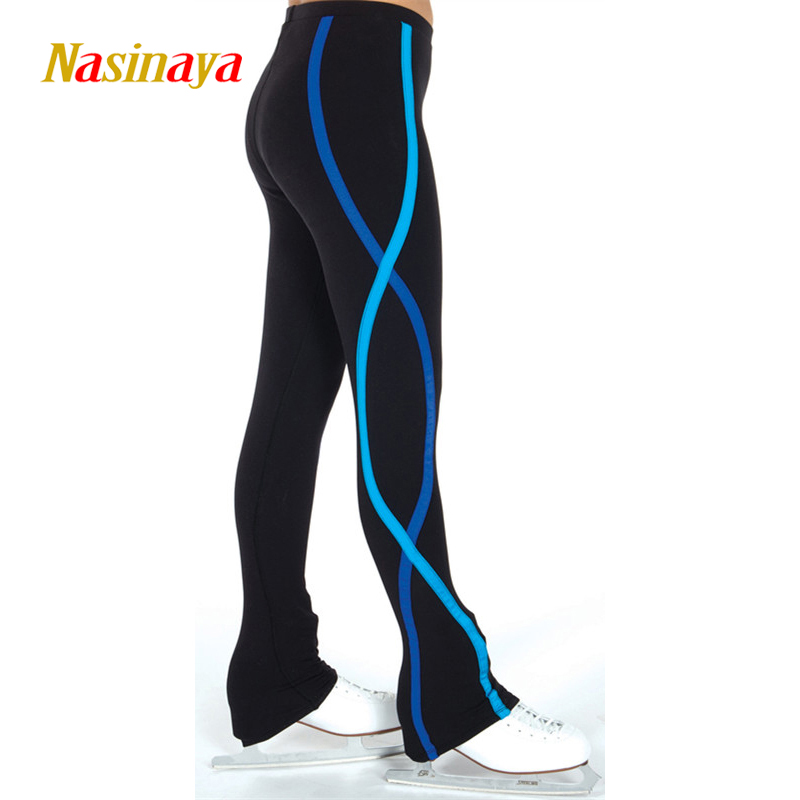 Customized Figure Skating Pants Long Trousers For Girl Women Training Competition Patinaje Ice Skating Warm Fleece Gymnastics 2