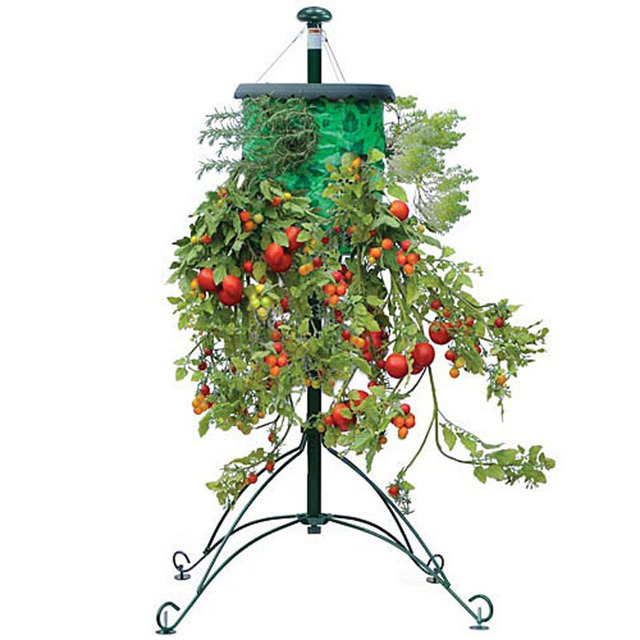 Topsy Turvy Tomato And Vegetable Hanging Suspended Planters
