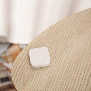 Image 4 - Xiaomi Mijia AQara умный Многофункциональный al Интеллектуальный беспроводной переключатель ключ Встроенный гироскоп функция работает с Android IOS APP