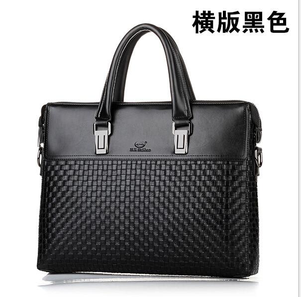 men's bags business laptop bag pu leather black 15 men's briefcases soft leather classic handbags for man laptop briefcase 247 classic leather