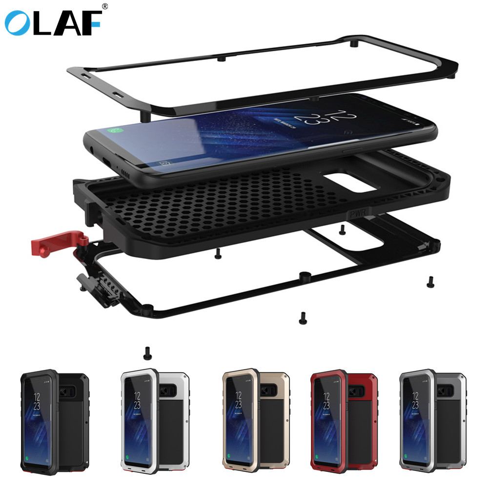 OLAF Phone-Case Rugged Armor Hard S7-Edge S8-Plus Samsung Galaxy Note-4 for S9 PC Shockproof