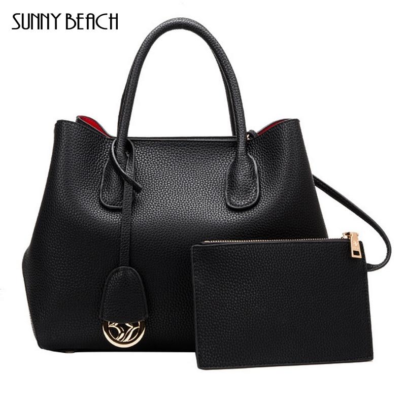 все цены на SUNNY BEACH Genuine Leather Handbags Famous Brand Tote Bag Designer Handbag Female Messenger Crossbody Bag For Women