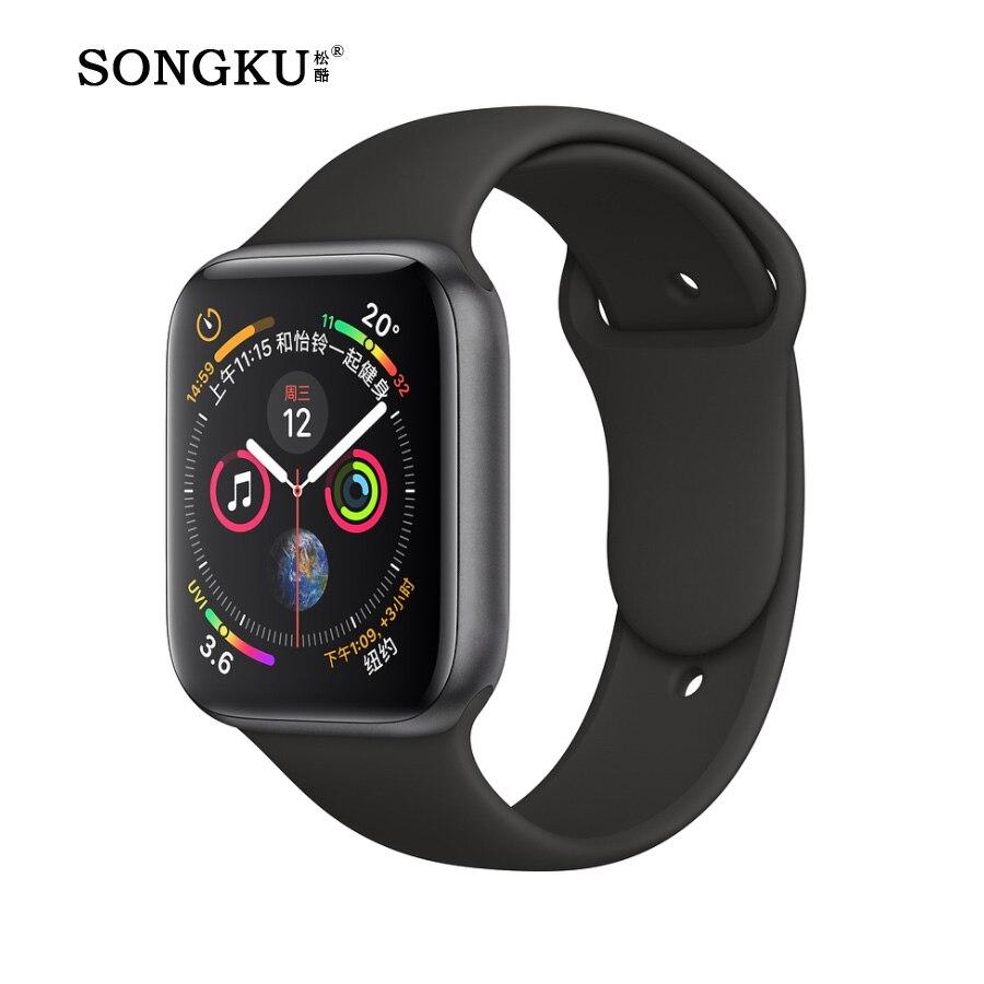 e43d0f6364f2 Bluetooth inteligente reloj hombres Q18 con pantalla táctil Batería grande  apoyo TF tarjeta Sim cámara para