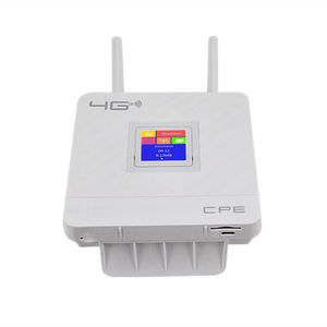 Image 3 - Wireless CPE 4G Wifi Router Portable Gateway FDD TDD LTE WCDMA GSM Global Unlock External Antennas SIM Card Slot WAN/LAN Port