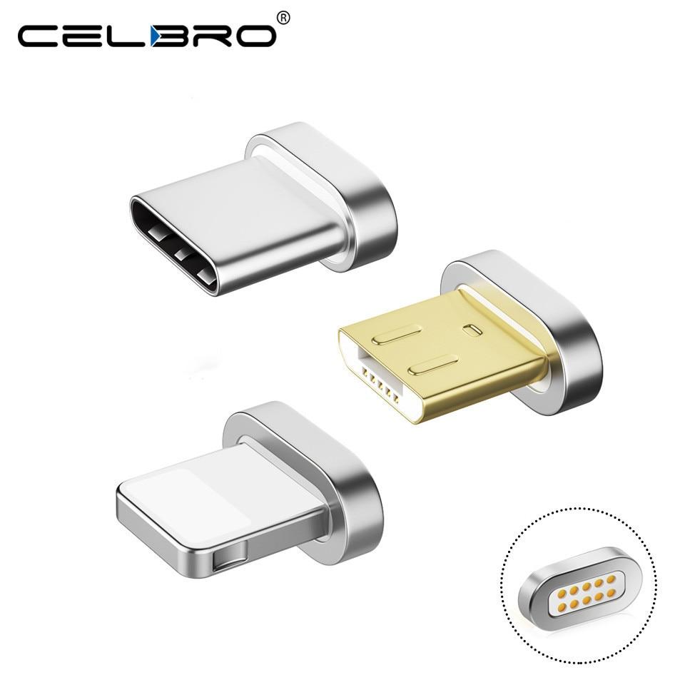 Mini Magnetische Stecker Für Huawei P20/mate 10/pro/lite Usb Typ C Ladegerät Kabel Micro Usb Usb-c Magnet Lade Kabel Adapter Gute WäRmeerhaltung Handy-ladegeräte