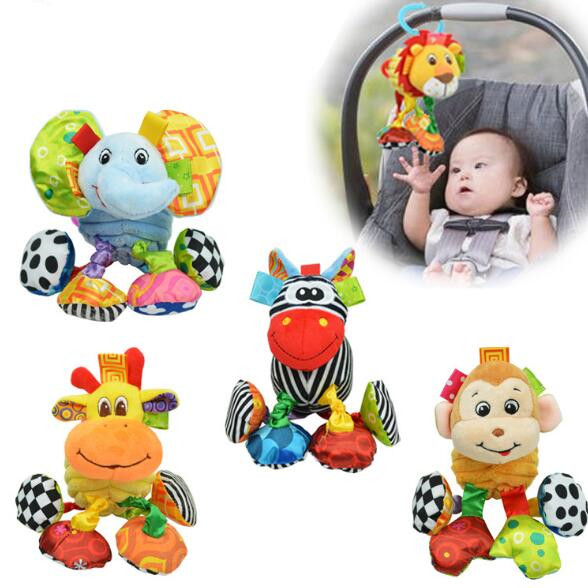 Baby Plush Toy Vibrating Toys Animal Super Soft Comfort Newbron Gift Free Shipping SZ12