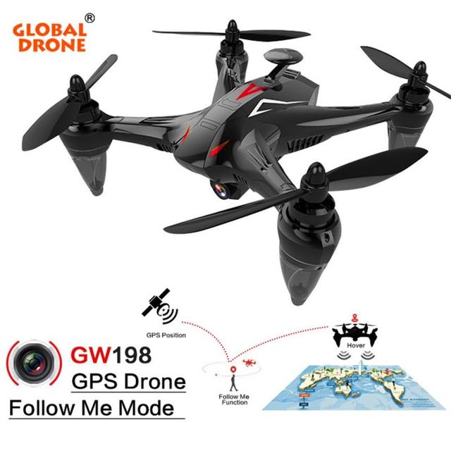 RC Drone Global Drone GW198 Wide-angle HD Camera Altitude Hold 5G WIFI FPV Follow Me 6-Axis Ray Brushless Motor RC Quadcopter 3#