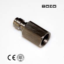 "Rosca interna 1/8 ""NPT Macho Quick Disconnect Adaptador de enchimento de bico de aço inoxidável paintball Novo"