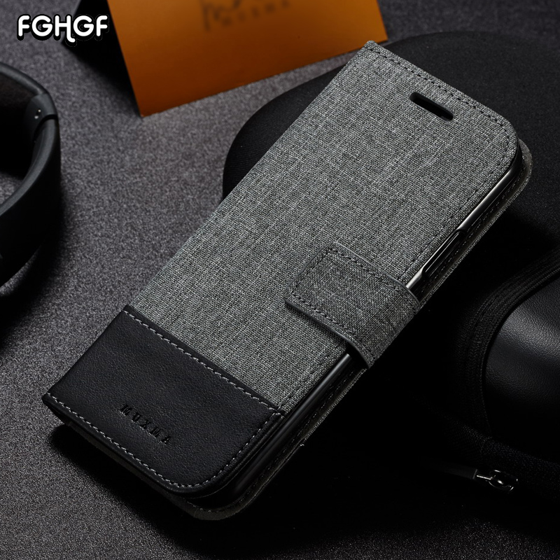 FGHGF Case For One Plus 5T Case Flip PU Leather Business Wallet Cover For OnePlus 5 T Case For OnePlus 3t Case For One Plus 3 T