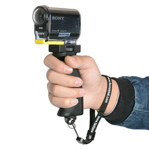 Image 4 - פעולה מצלמה יד גריפ ארגונומי אקדח ידית עבור Sony X3000 X1000 Xiaomi יי 4K 4K + Mijia ספורט מצלמת וידאו מייצב מחזיק