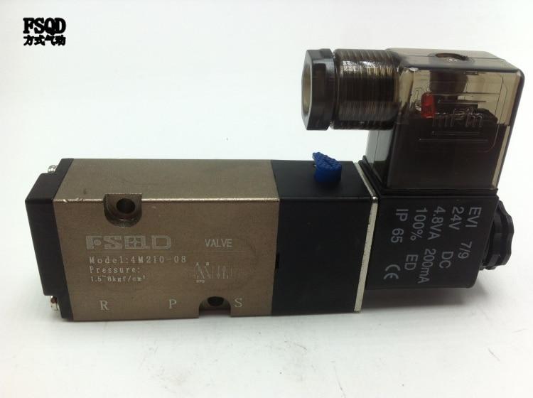 4M210-08 FSQD solenoid valve Ordinary type electromagnetic valve pneumatic component air tools electromagnetic valve m 3sew6u30b 630mg24n9k4 hydraulic valve