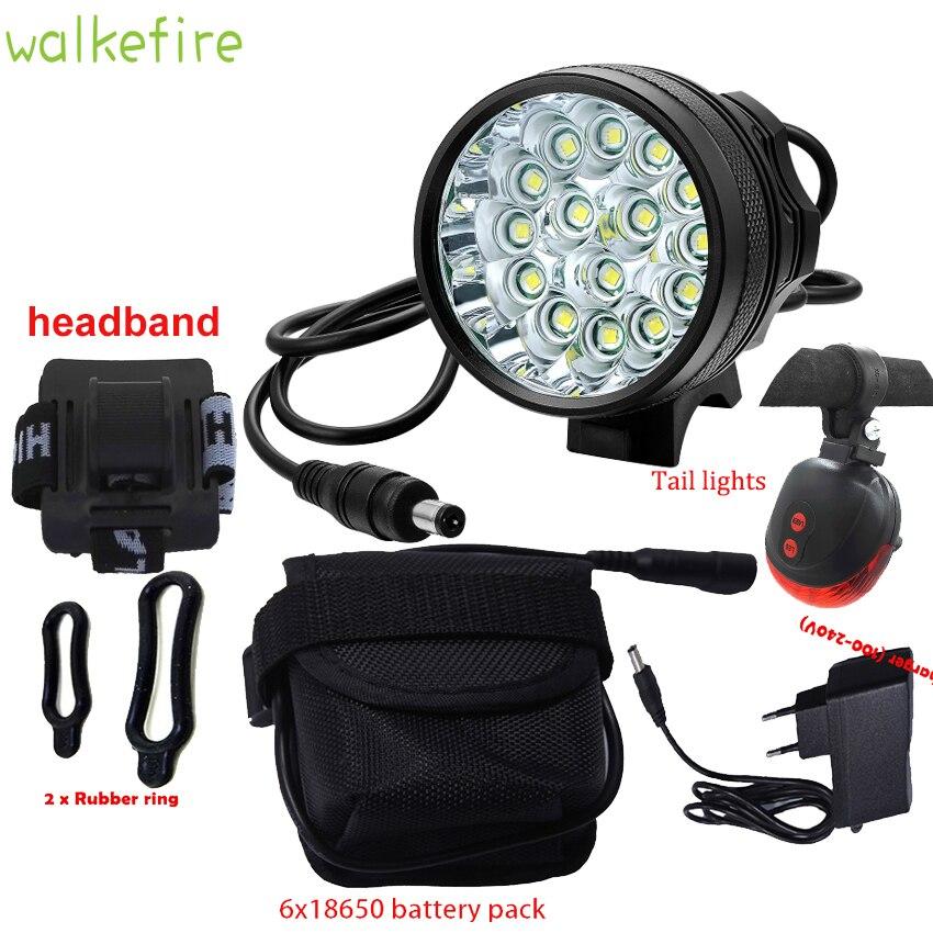 Lumière Queue 15 Cyclisme Vélo Accessoires LampeSécurité Avant Élevé Led Laser Lumen Rechargeable Xlm R4LA35j