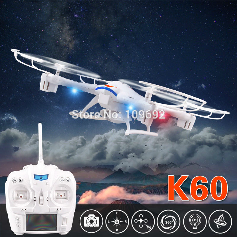 KAINISI Kai Deng K60 RC Drones 2MP HD Camera UFO 2.4G 5CH 6-Axis Quadcopter LCD Display Helicopters VS Syma X5C-1 X8C X400 original kai deng pantonma k80 brushed ccw motor
