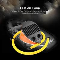 Portable 3L Inflator reinforced Foot Pump Air Cushion Kayak Inflatable Toy Air Cushion Kayak or Inflatable Toy Bicycle pump