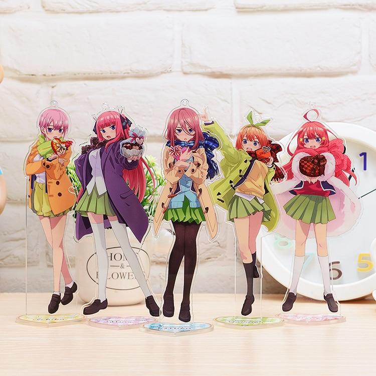 Cute Gotoubun no Hanayome Nakano Itsuki Anime Acrylic Stand Figure display model