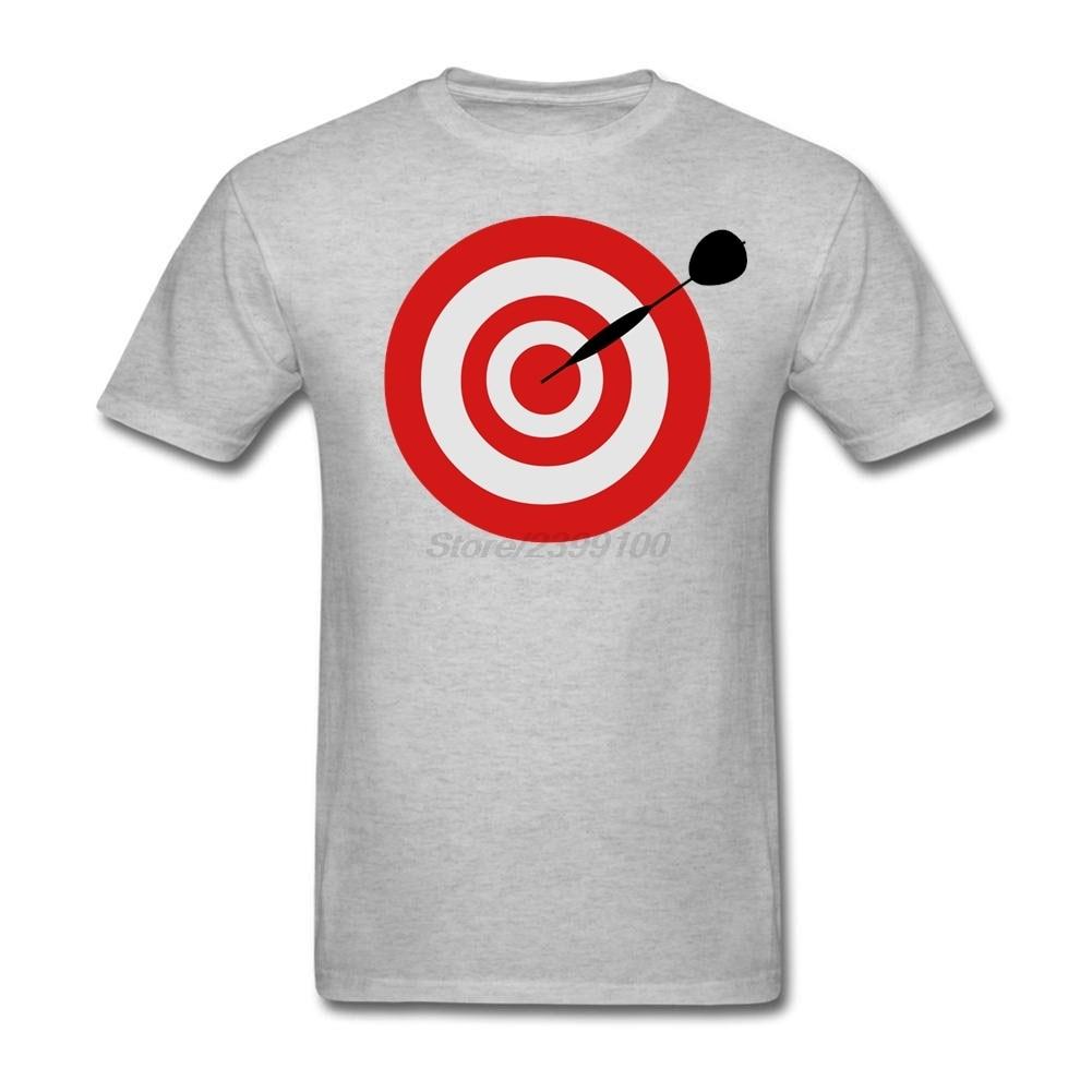 Black t shirt target - Male Men S Summer Darts Board Target T Shirt Custom Short Sleeve Team Tee Shirts Boy