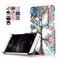 Для Funda Huawei MediaPad T2 7 Pro Coque Обложка Case Красочные картина PU Кожаные Чехлы для Huawei MediaPad T2 7 Pro Tablet кожи